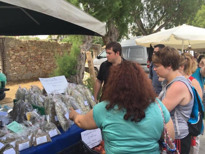 crete market tour